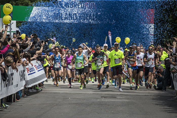 Participants start during the Wings for Life World Run in Milano, Italy on May 8, 2016. // Damiano Levati for Wings for Life World Run // P-20160508-00624 // Usage for editorial use only // Please go to www.redbullcontentpool.com for further information. //