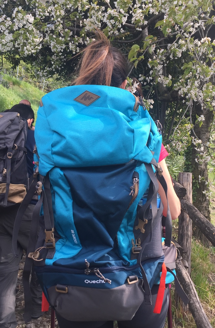 escape 50 decathlon zaino trekking